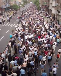 22 May Tabriz, mass demonstrations