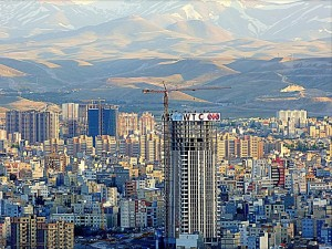 Panorama of Tabriz, The capital of Southern Azerbaijan