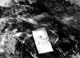 The public Turkic book burning  ceremonies conducted by Iranian racist regime in 1946.