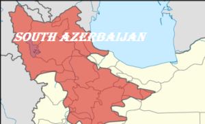 Map of South Azerbaijan